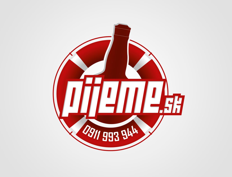 Pijeme.sk - firemná identita
