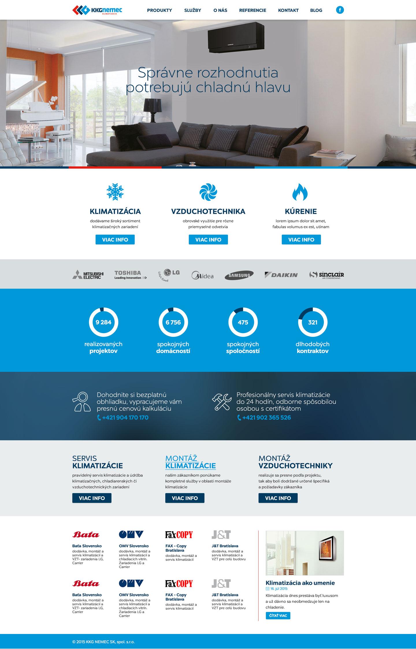 KKG.sk - homepage