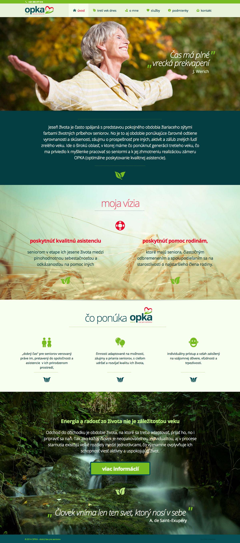 OPKA.sk - homepage
