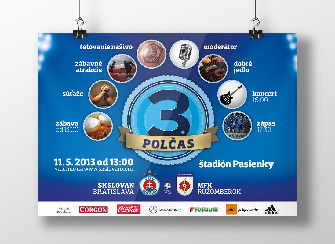 ŠK Slovan Bratislava plagát