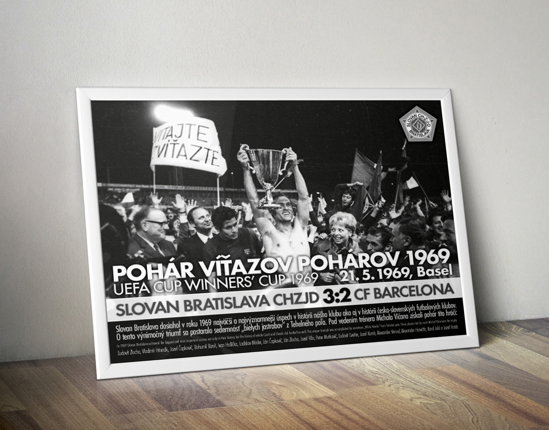 ŠK Slovan Bratislava plagát PVP