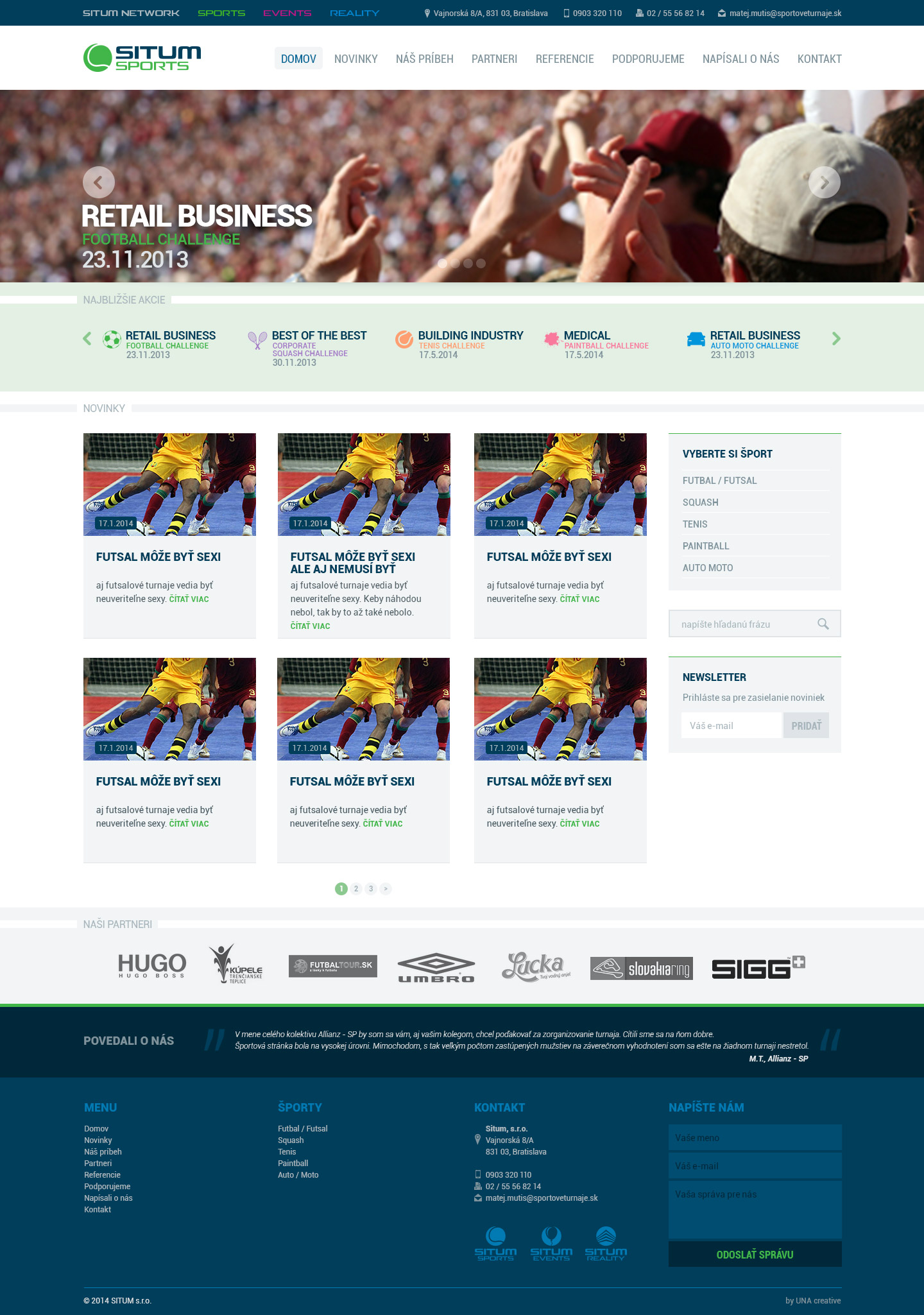 Situm.sk web dizajn