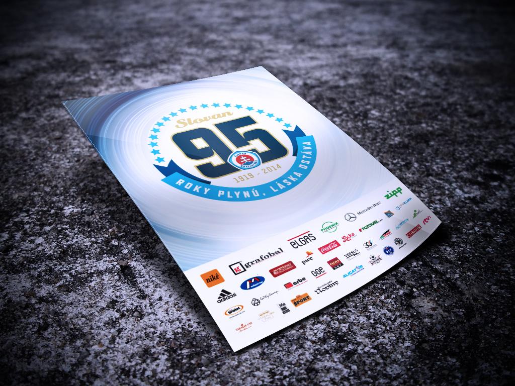 95 rokov ŠK Slovan inzercia