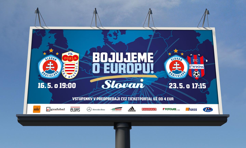 ŠK Slovan Bratislava bilboard