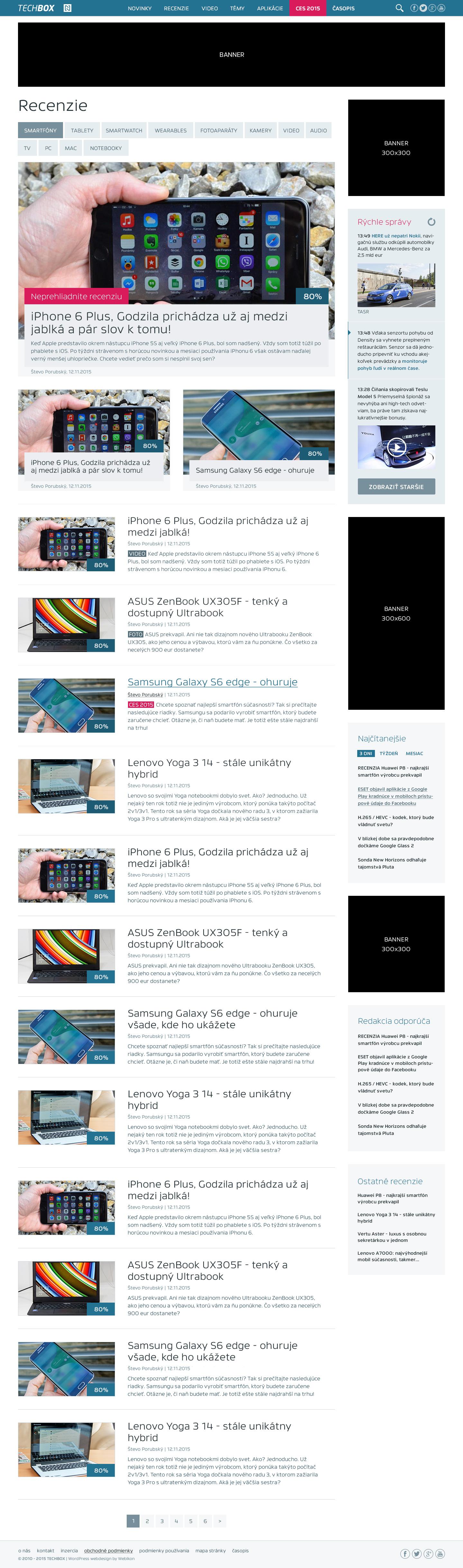 TECHBOX.sk - výpis článkov v kategórii