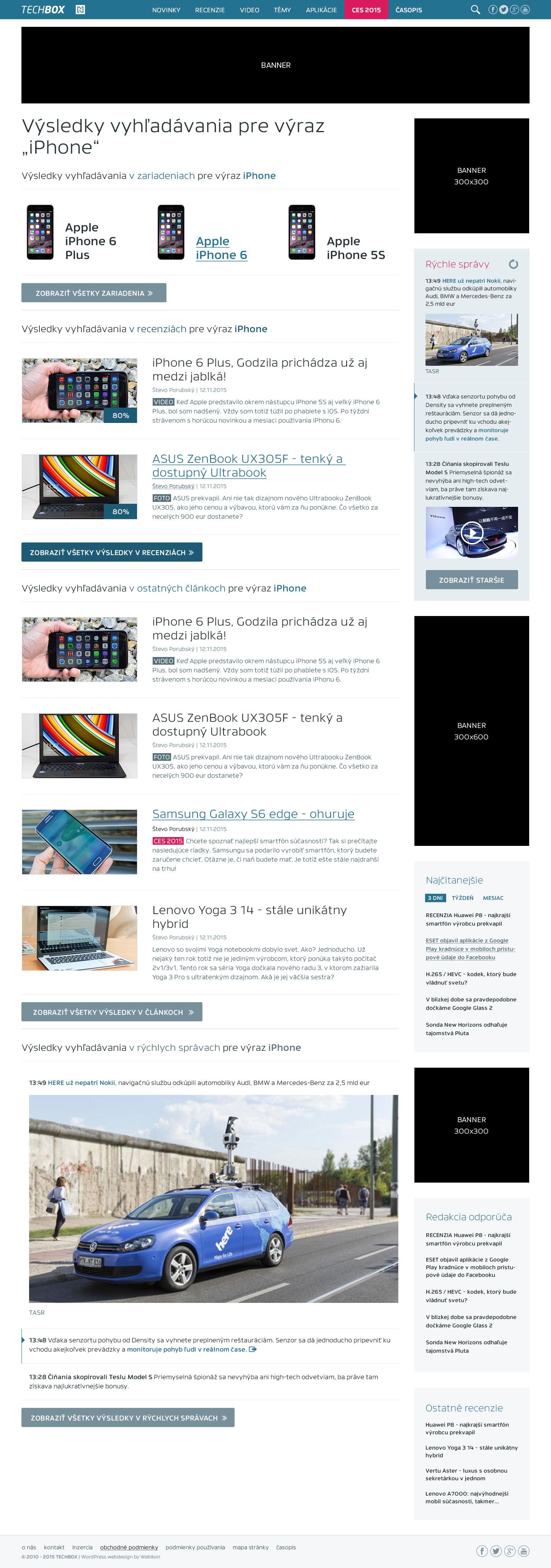TECHBOX.sk - výsledky vyhľadávania