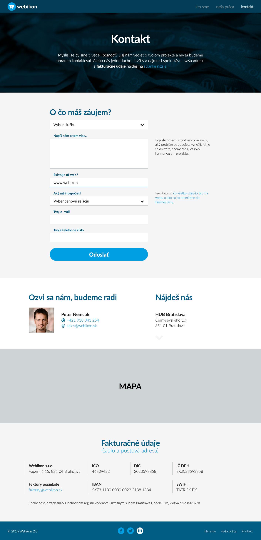 Webikon.sk - kontakt
