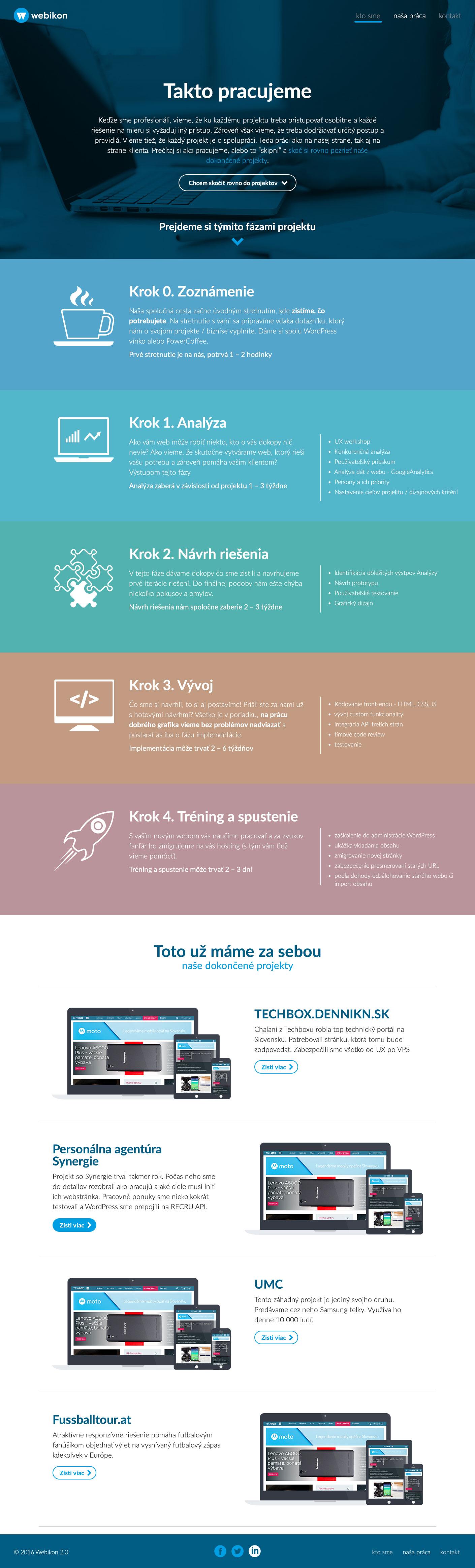Webikon.sk - naša práca