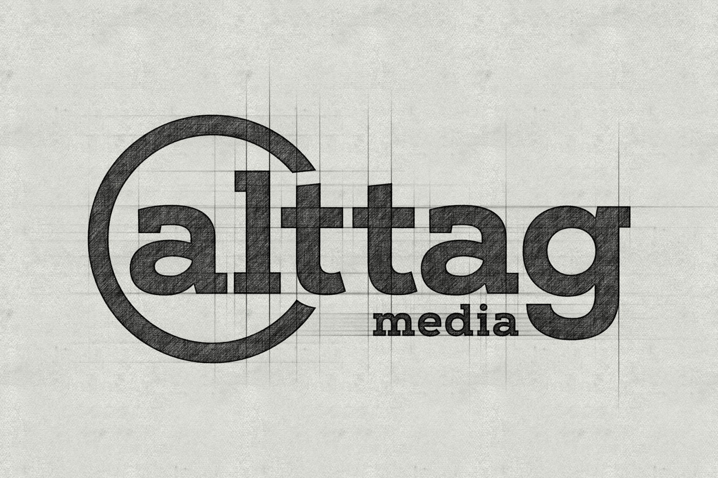 alttag media logo sketch
