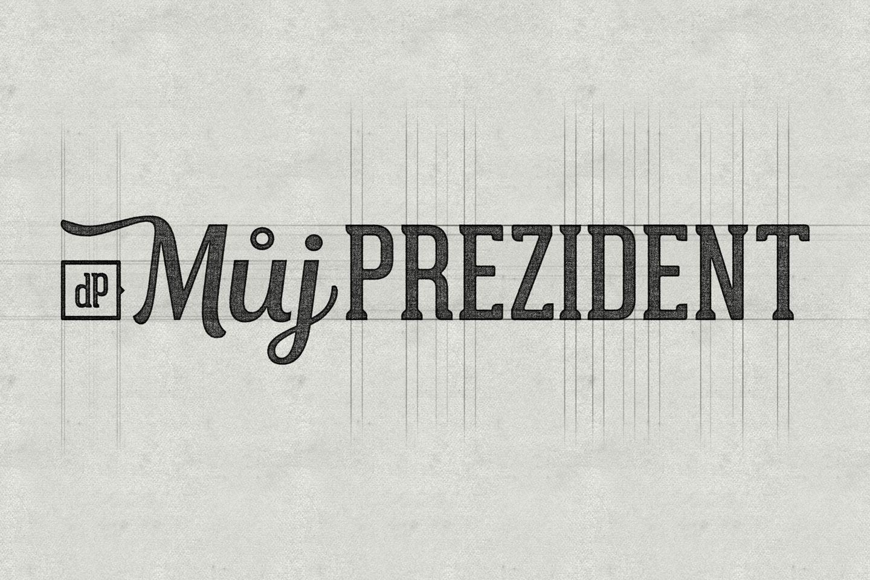 Mujprezident logo sketch