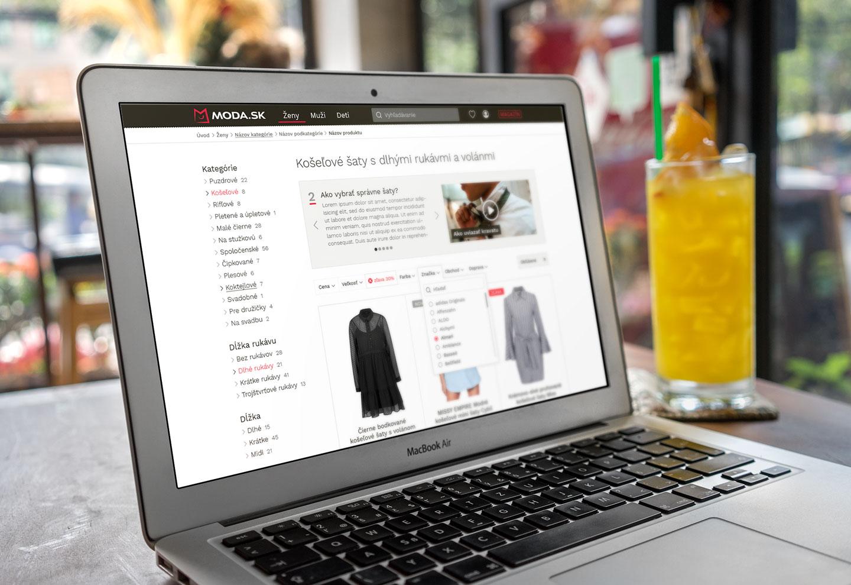 Moda.sk web